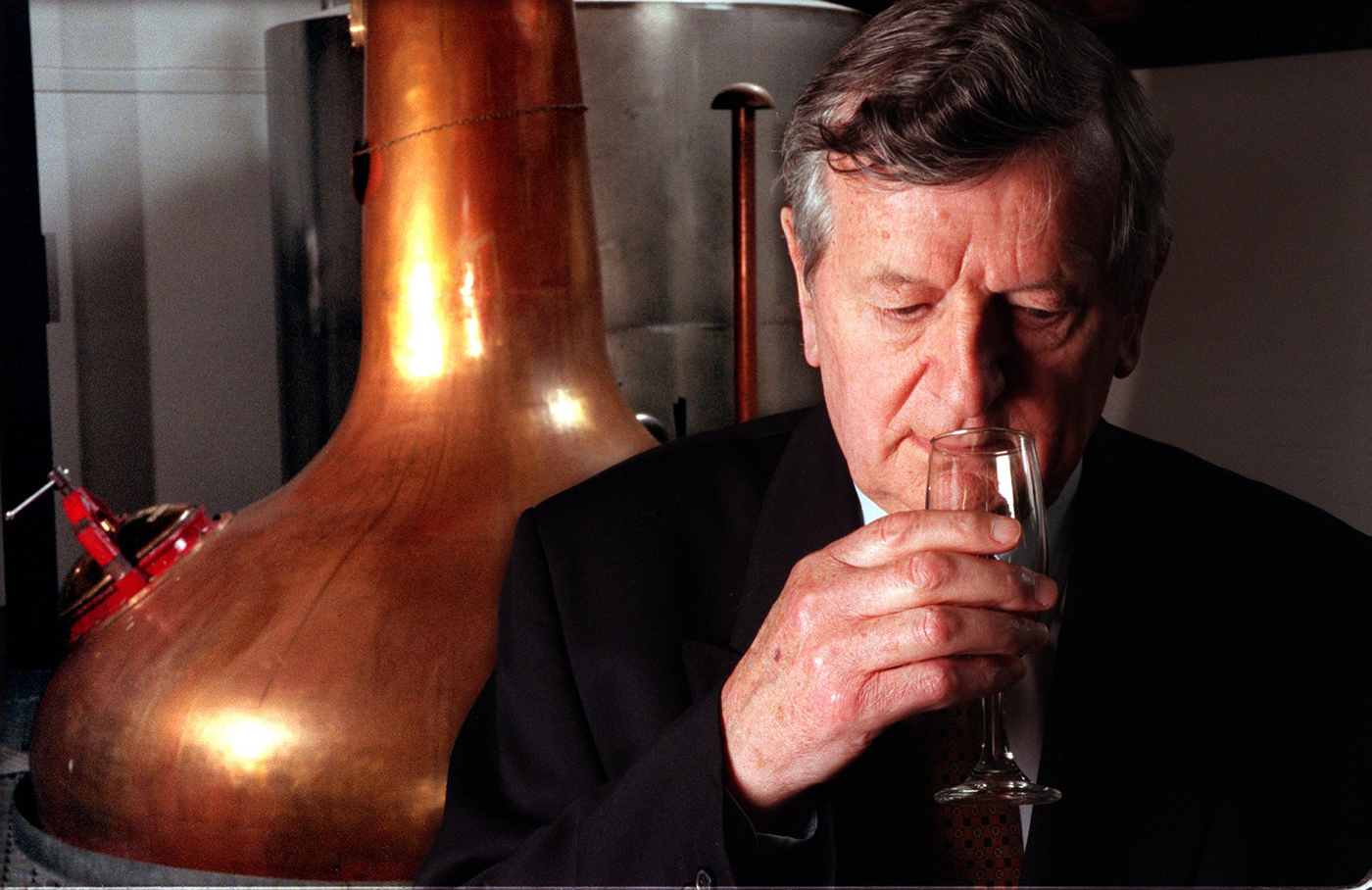 Harold Currie, formerly managing director of Chivas Regal, and founder of The Isle of Arran Distillery.